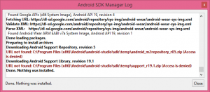 android sdk acces is denied