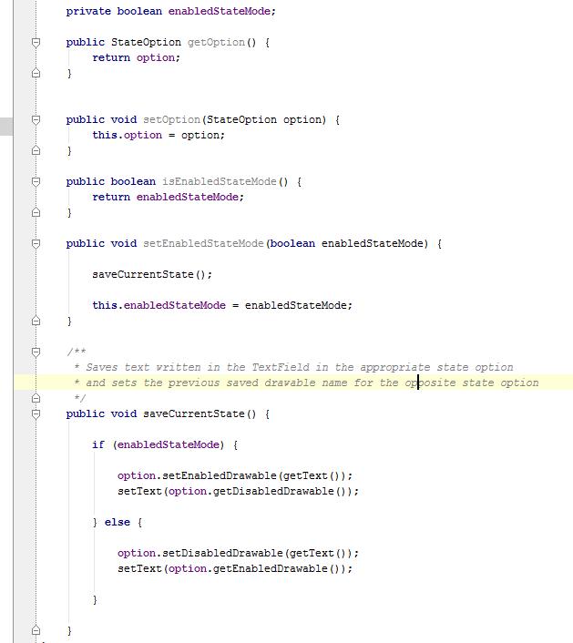 Android Studio / IntelliJ IDEA code regions - My Android