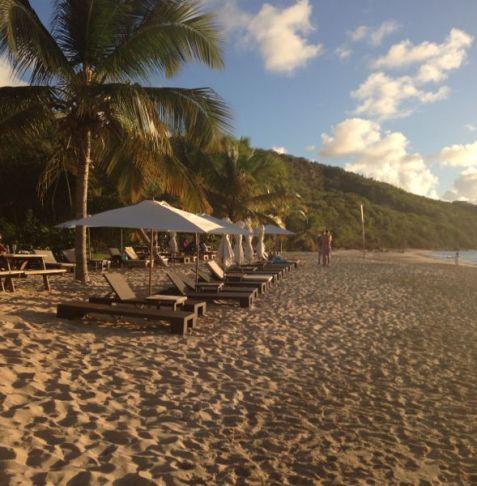 Crocus Bay Anguilla at Davida's restaurant