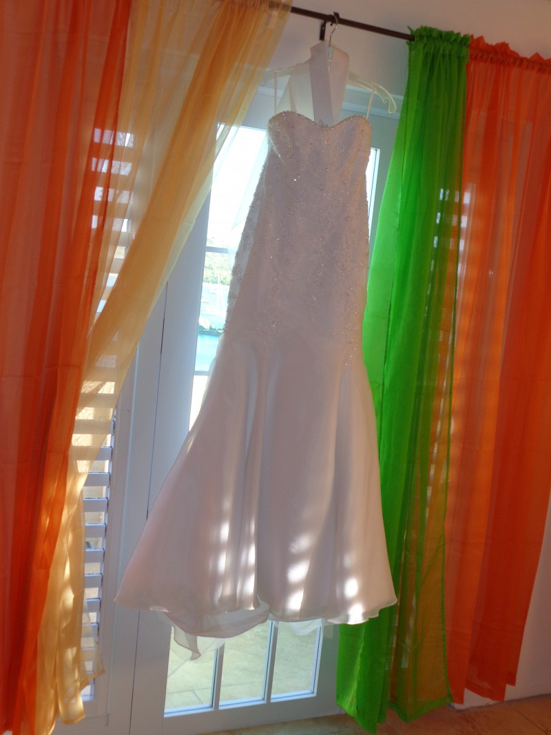 Getting Married in Anguilla - The Wedding Dress