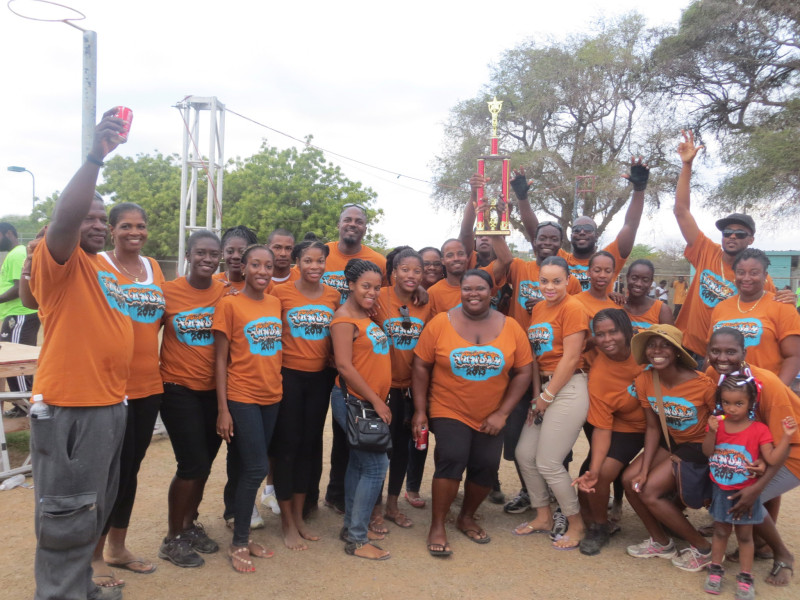 We did it! Team Government of Anguilla – Anguilla Fun Day Champs, 2013