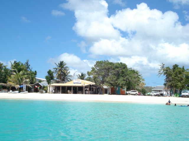 View of Johnnos, heading to Sandy Island, Anguilla