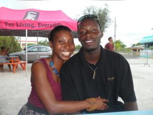 Nash and I at Taste of Anguilla, Tasty's, Anguilla