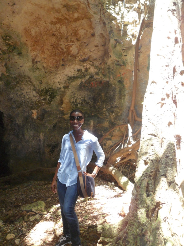 Inside Iguana Cave, Katouche, Anguilla