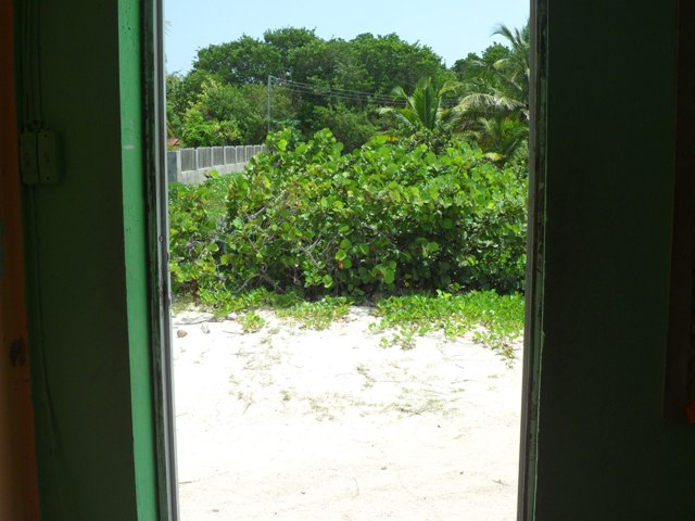 The View through the door of Grade 6 of the Vivien Vanterpool Primary School