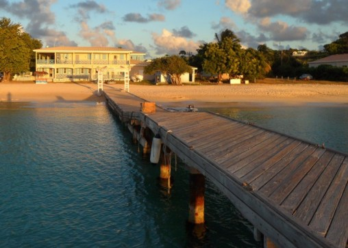 Wharf, Sandy Ground, Anguilla