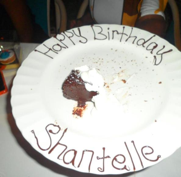 HBD Shantelle - we ate most of the cake