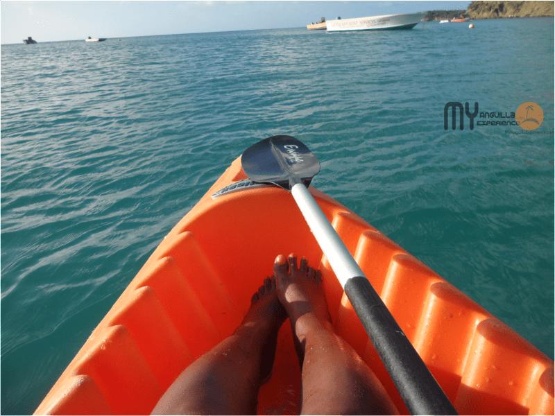 Kayaking to Little Bay Anguilla