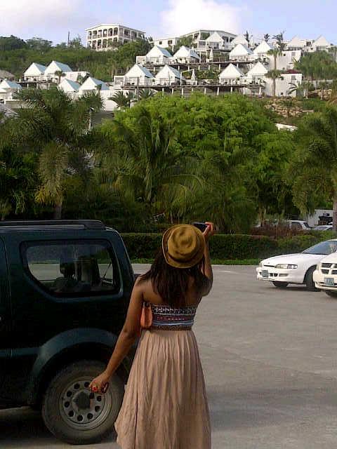 View of CeBlue, Anguilla