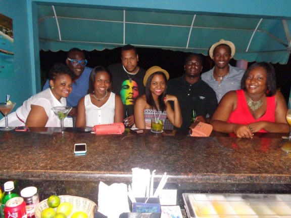 Sherise and Friends at Tasty's, Anguilla
