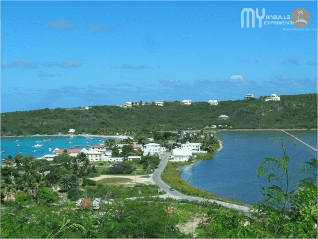 View of the beach in Anguilla