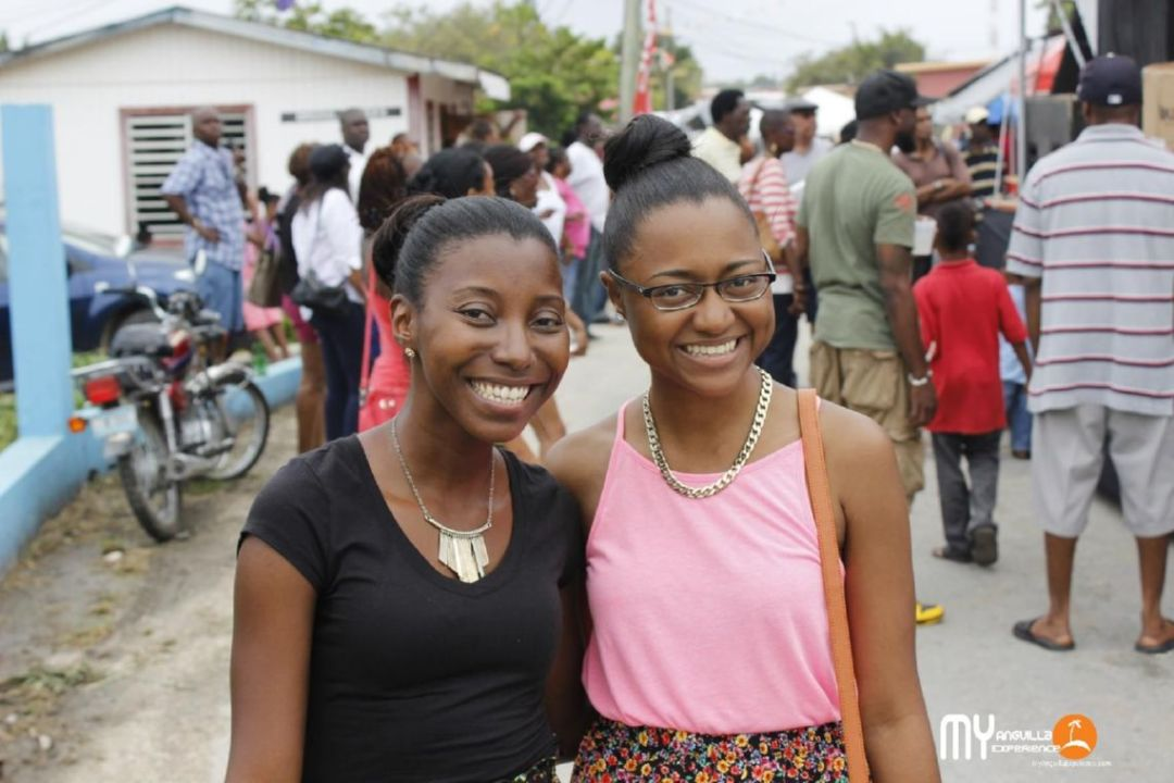 Sherise and I, South Valley Street Fair, Anguilla