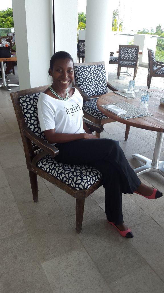 Relaxing at CuisinArt