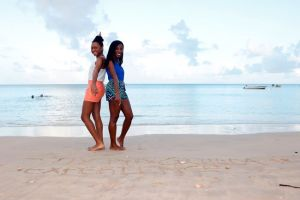 Shelly and Sherise - My Anguilla Experience