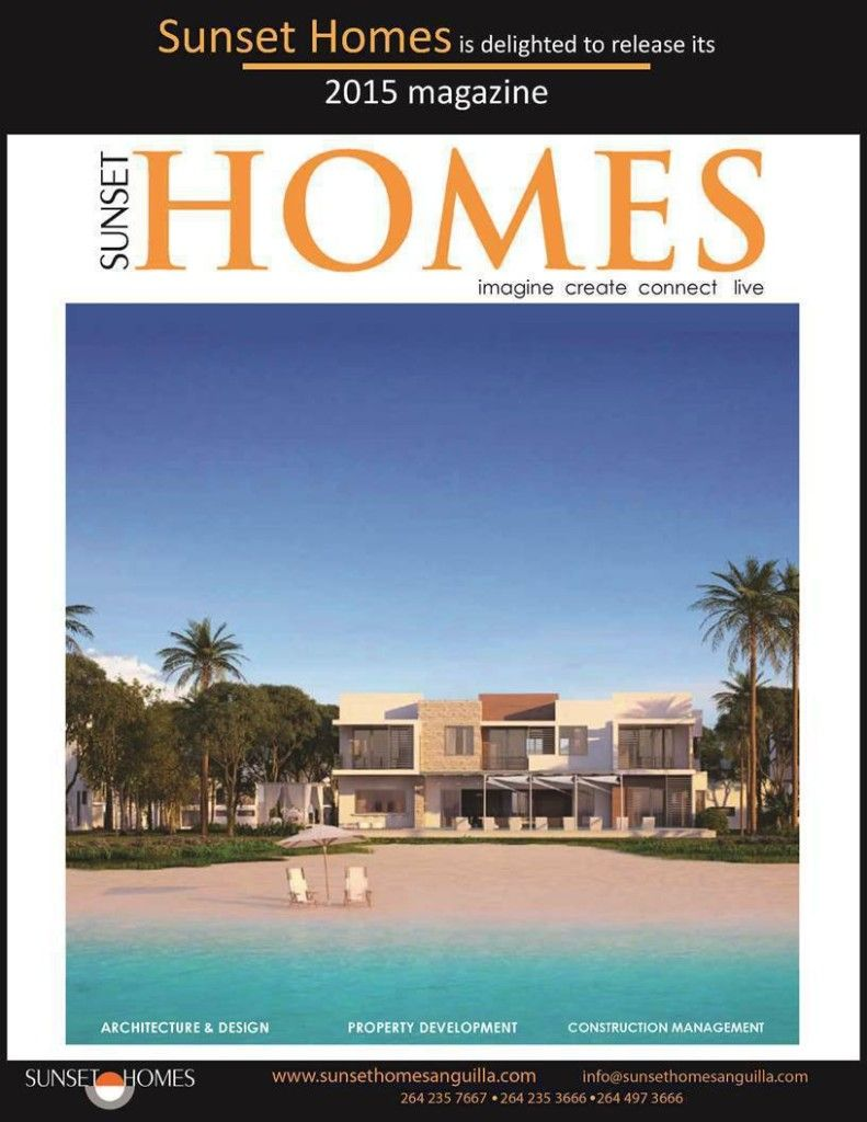 Launch of Sunset Homes 2015 magazine
