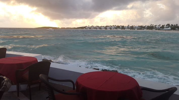 Evening view from Spice Restaurant