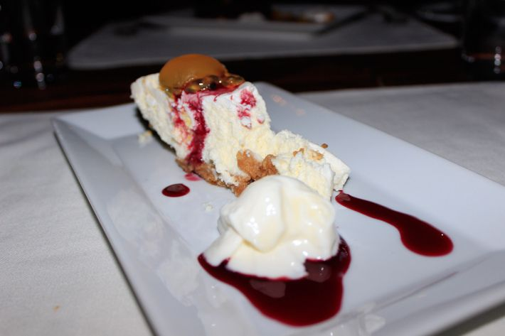 Goat Cheese Cake at De Cuisine