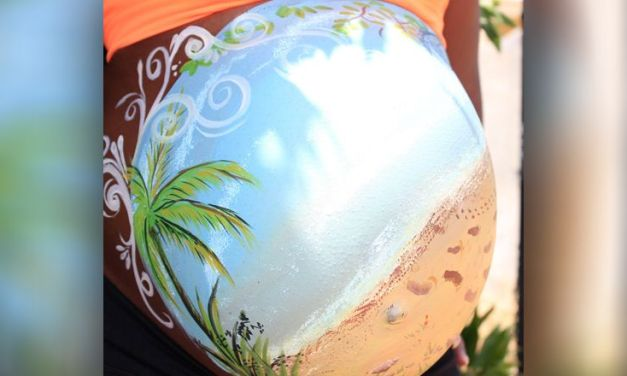 Belly Painting During Pregnancy