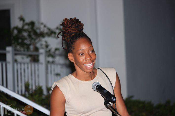 Shara Proctor in Anguilla