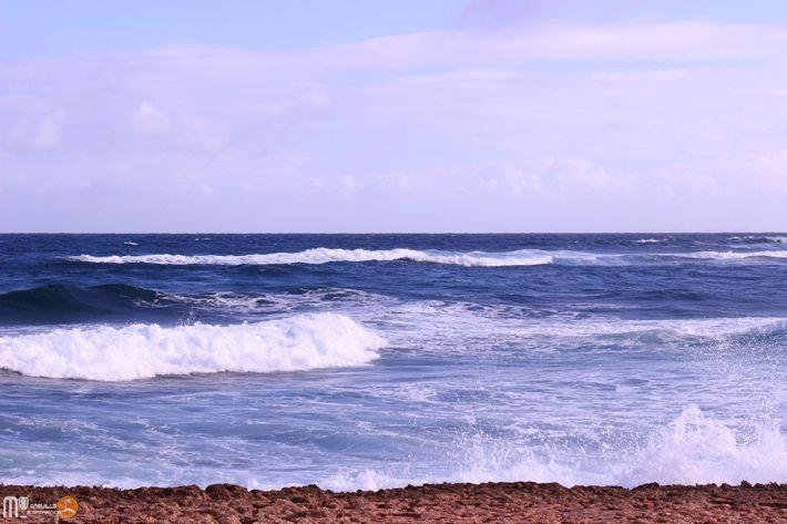 The Atlantic ocean at Windward Point Anguilla