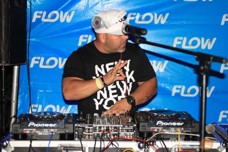 DJ at Livin in the Sun
