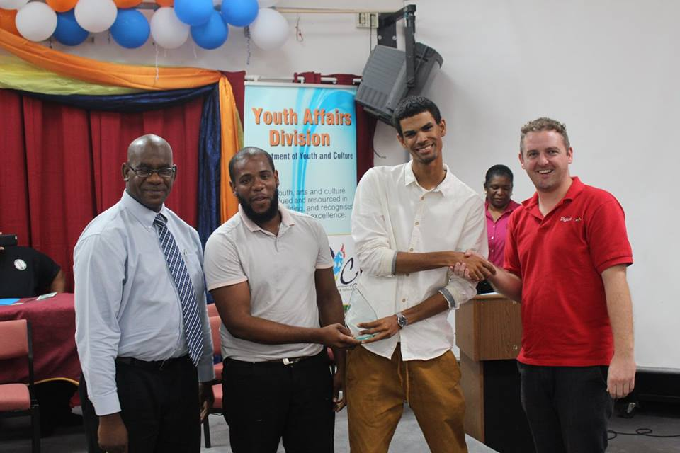 New Entrepreneur Award sponsored by Digicel