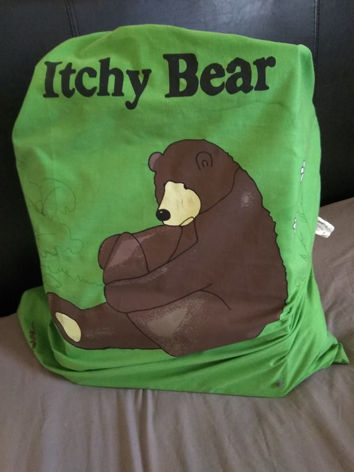 Itchy Bear Story Sack