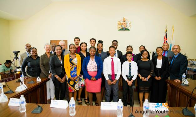 Young Leaders Sworn into Anguilla Youth Parliament