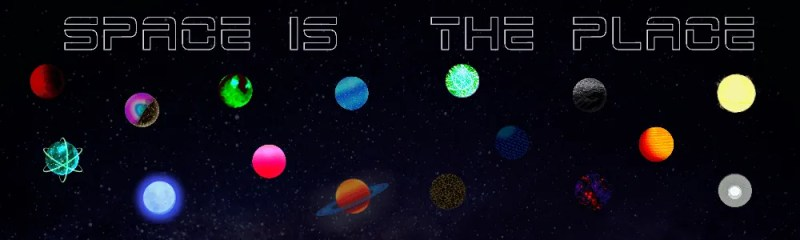 Space is the Place Banner