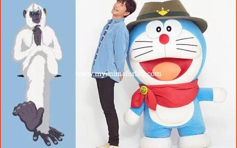 Takuya Kimura Cast in 2020 Anime Film Doraemon