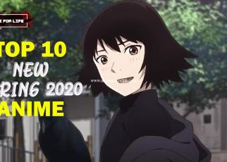 Top 10 Anime Spring 2020