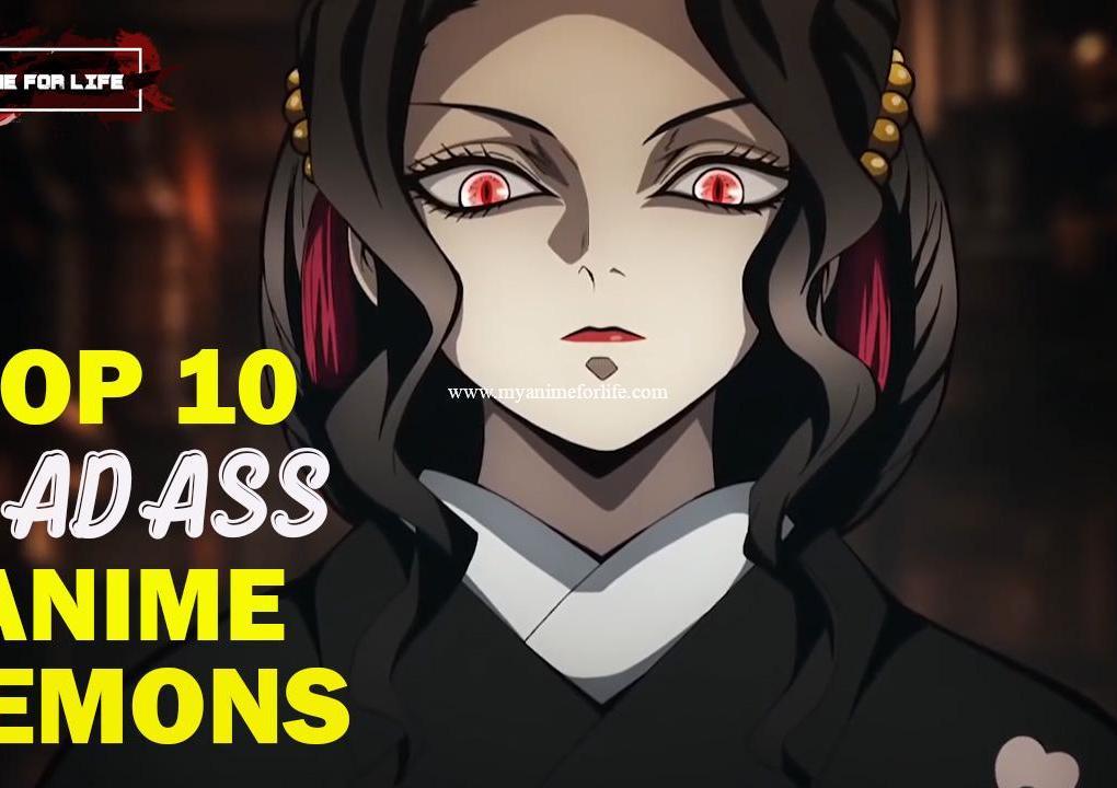 Top 10 Anime Demons