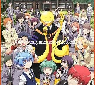 On August 29 Anime Assassination Classroom Premieres on Toonami