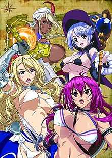 Bikini Warriors anime