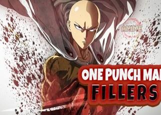 one punch man filler list