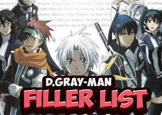 D.Gray-Man filler list