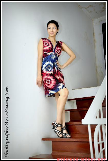 Thandar Hlaing – Attractive Myanmar Former Model