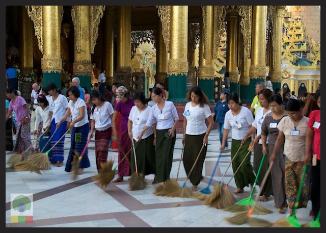 Shwedagon Pagoda - Yangon - Myanmar 6