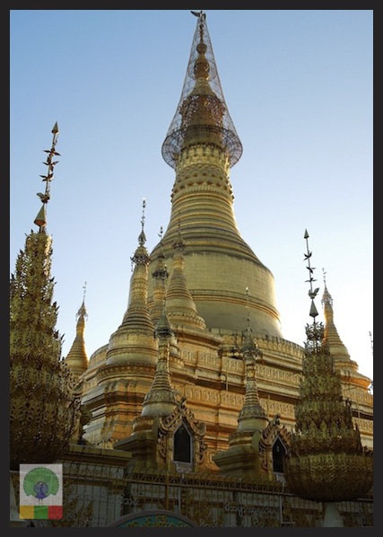 Shwesandaw Pagoda - Pyay - Myanmar (Burma) 5