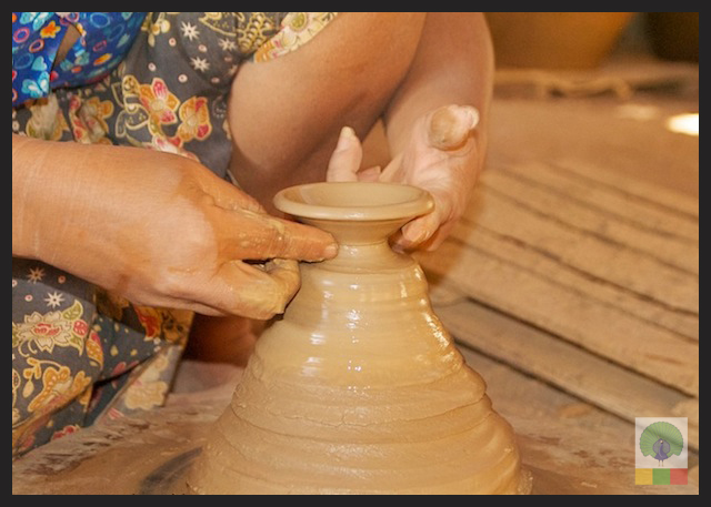 Pottery Workshop in Twante, near Yangon