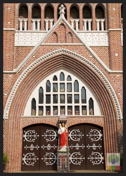Saint Mary's Catholic Cathedral in Yangon - Myanmar_3