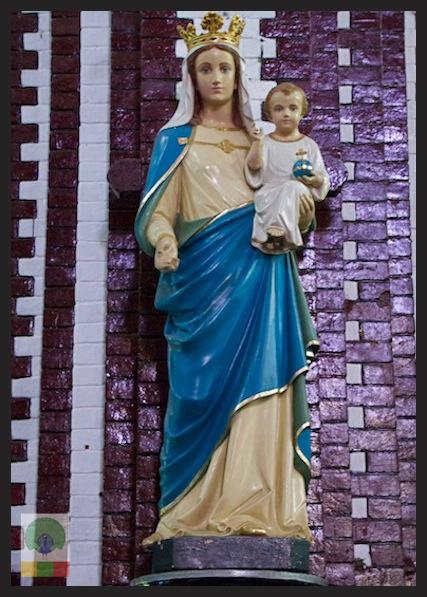 Saint Mary's Catholic Cathedral in Yangon - Myanmar_7