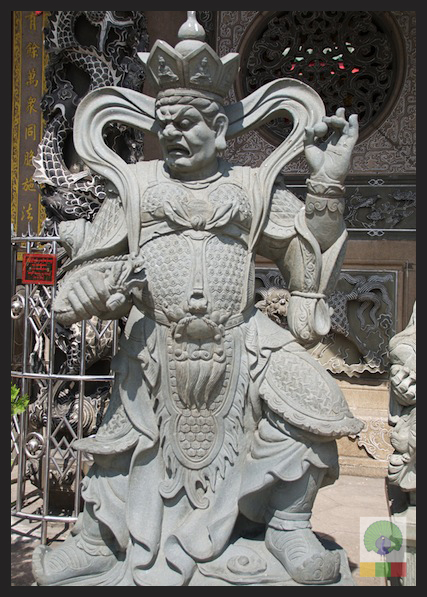 Kheng Hock Keong Chinese Temple - Yangon - Myanmar (Burma) 6