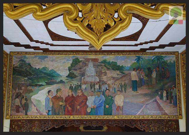 Kyauk Daw Kyi Pagoda - Marble Buddha - Insein Township - Yangon - Myanmar (Burma) 3