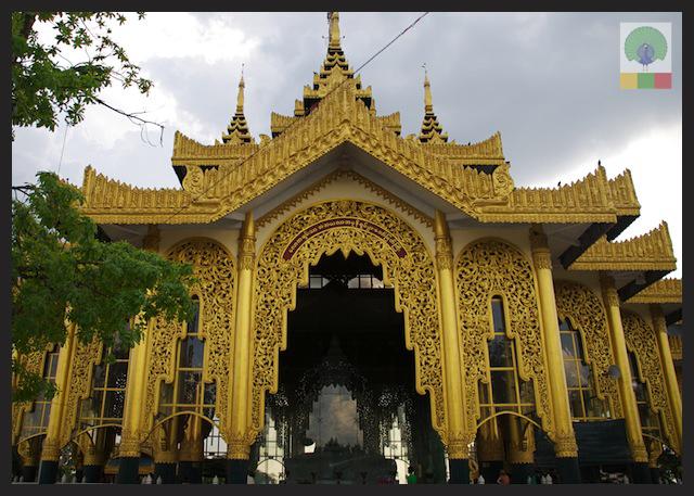 Marble Stone Buddha at Kyauk Daw Kyi Pagoda, Insein (Yangon)