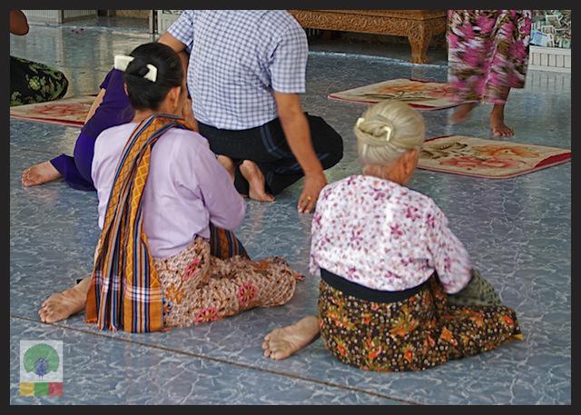 Kyauk Daw Kyi Pagoda - Marble Buddha - Insein Township - Yangon - Myanmar (Burma) 8