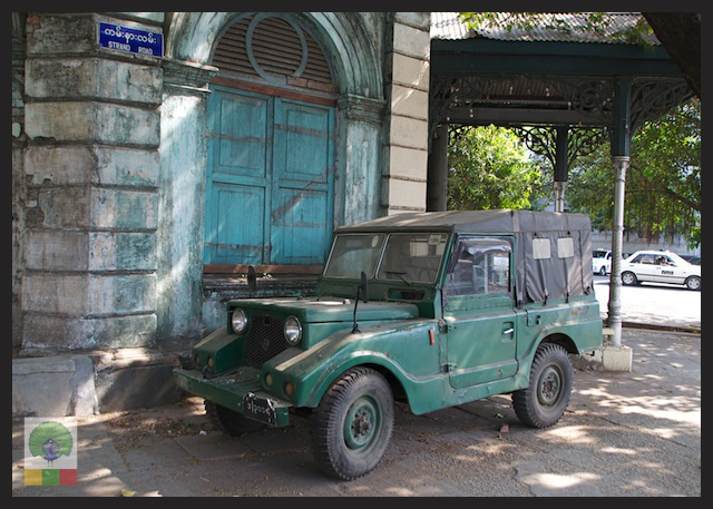 """Mazda Jeep"": The 1960's 4×4 Used by the Myanmar Military"