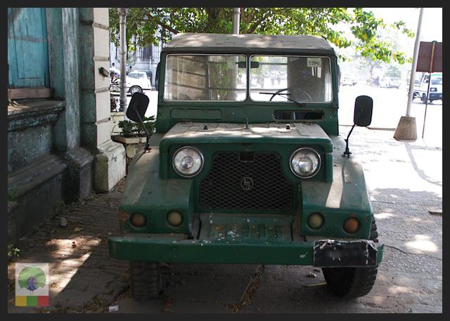 Mazda Pathfinder Station Wagon XV-1 SW 4x4 Myanmar (Burma) Military Mazda Jeep 5