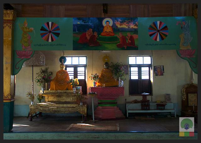 Monastery - Inle Lake - Myanmar (Burma) 4