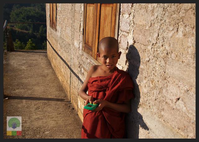 Novice Monks - Monastery - Inle Lake - Myanmar (Burma) 5